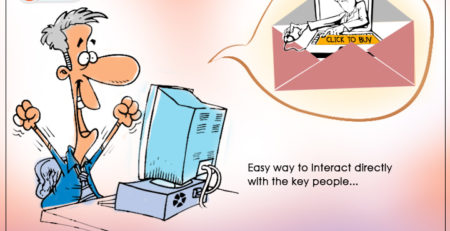 Meet key people within a click
