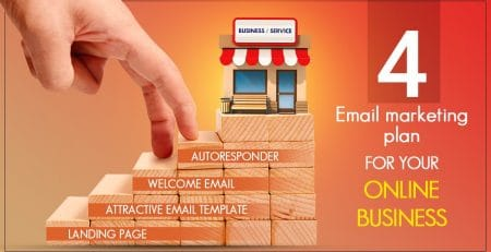 4-Steps of Email Marketing Plan for Your Online Business