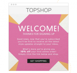 Send an automated welcome email